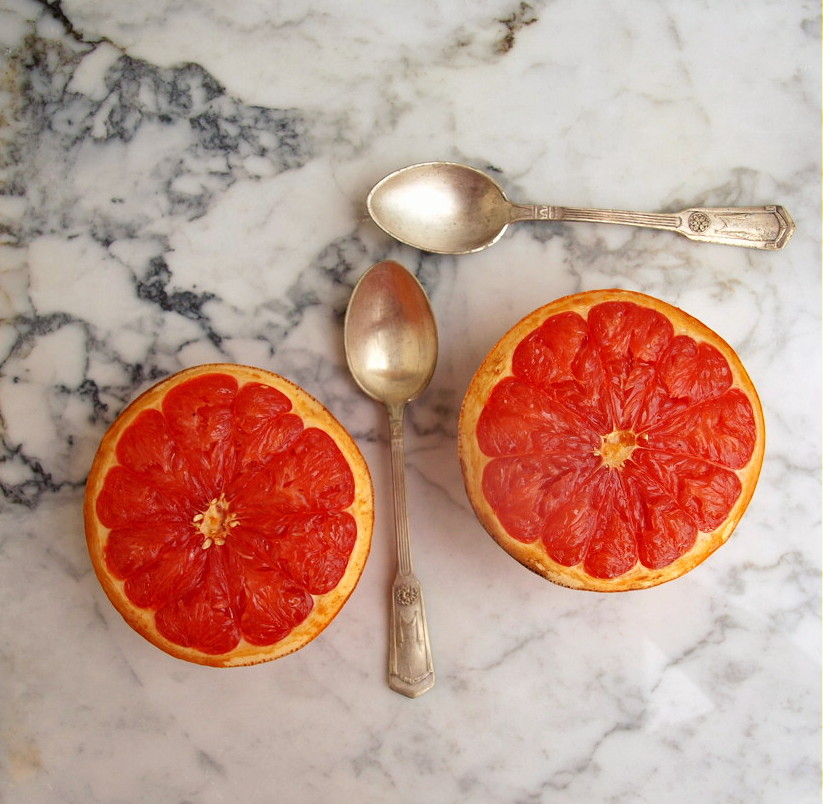 Pieczony grejpfrut/Grapefruit brulee