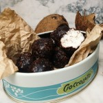 Organic, vegan, healthy, sugar free bounty balls