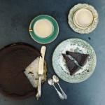Brownie bez mąki o smaku espresso