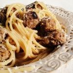 Cudowne spaghetti siciliana