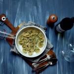 Prawdziwe, domowe tortellini z ricottą i szpinakiem