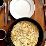 Niedzielna frittata z fasolką szparagową z 3 jajek dla 4 osób