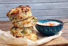Mini frittatki z brokułami i parmezanem