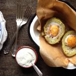 Jajka zapiekane w ziemniakach czyli obiad za mniej niż 5 zł